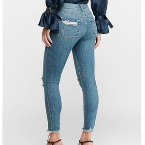Express Jeans - Express High Waisted Hyper Stretch Skinny Jeans